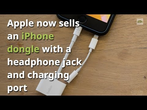 Apple is courageously selling iPhone Dongle for Headphone Jack and Charting Port