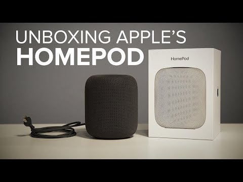 Unboxing: Apple HomePod
