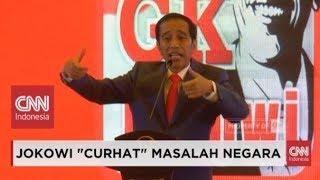 "Download Video Meledak-ledak, Presiden Jokowi ""Curhat""; Isu Utang, PKI, Indonesia Bubar 2030, Sampai Kaos MP3 3GP MP4"