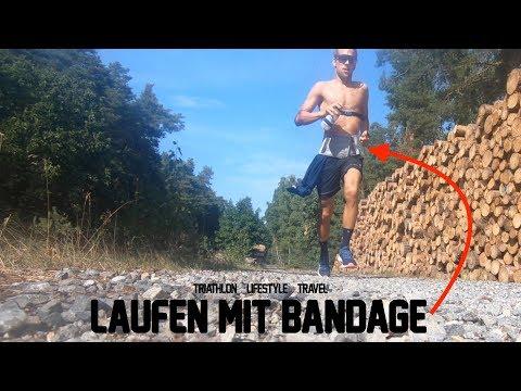 Laufen mit Bandage ist Schwachsinn?