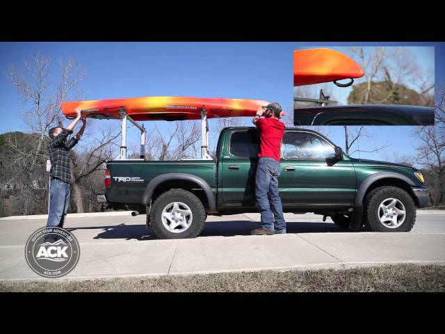 How To Properly Secure a Kayak to a Roof Rack