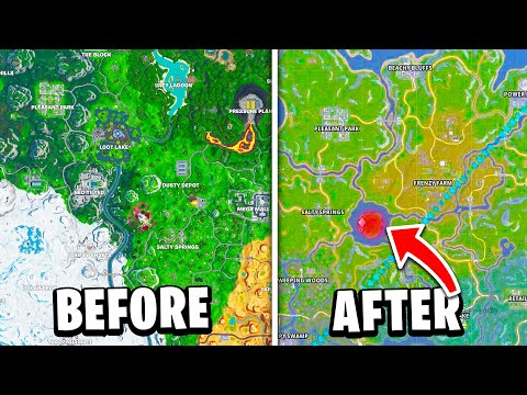 7 New Fortnite Locations COMING IN CHAPTER 2! (Season 11)