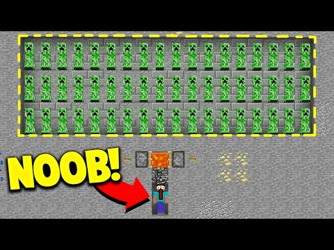 HOW TO TRAP NOOBS! (Minecraft Skywars Trolling) with PrestonPlayz