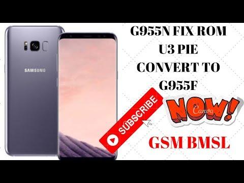 SAMSUNG GALAXY S8+ SM-G955N FULL CONVERT TO G955F - смотреть онлайн