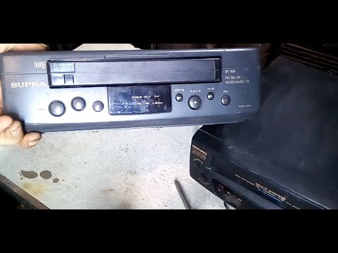 Обзор и разборка видео магнитофонов SUPRA ; DAEWOO