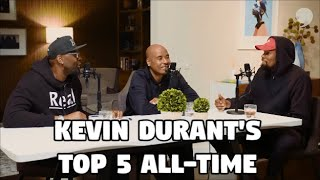 Kevin Durant Puts Michael Jordan and Kobe Bryant as 1A and 1B All-Time