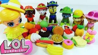Мультик Щенячий Патруль и Куклы ЛОЛ - Игрушки и Сюрпризы LOL SURPRISE BABY DOLL для девочек