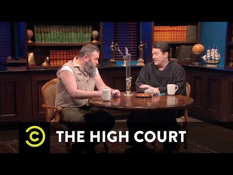 THCreativity / Part XXIV /  The High Judge & The High Court - The Weed Justice
