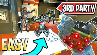 *INSANE* 3rd PARTY   NEW Apex Legends Funny & Epic Moments #167