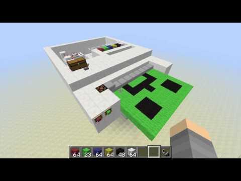 Minecraft Redstone Printer Tutorial - YouTube