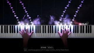 JENNIE「SOLO」Piano Cover