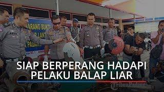 Polresta Padang Siap Berperang Hadapi Pelaku Balapan Liar dan Tawuran yang Meresahkan