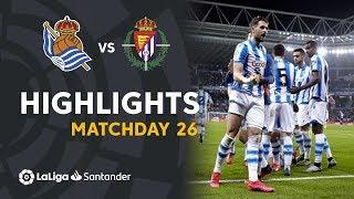 Highlights Real Sociedad vs Real Valladolid (1-0)