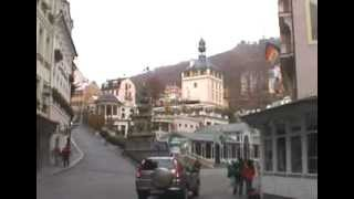 preview picture of video 'Karlovy Vary - the Castle Colonnade'