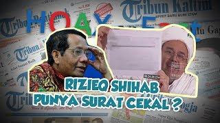 Hoax or Fact: Rizieq Shihab Pegang Klaim Surat Cekal?