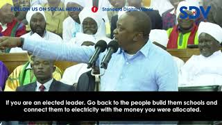 I am not your small boy-President Uhuru dresses down leaders during the Akorino National Convention