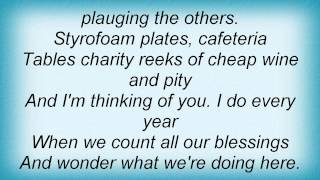 Death Cab For Cutie - Styrofoam Plates Lyrics
