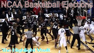 NCAA Players Getting Ejected