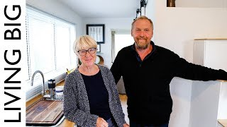 Couple Build Tiny House To Live Big In Retirement - Revisited - Video Youtube