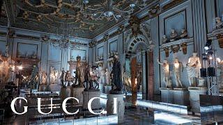 Gucci Cruise 2020 FASHION SHOW ai Musei Capitolini di Roma