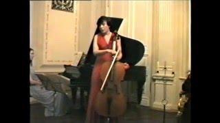 Виктория Ганчикова рассказывает о Пабло Казальсе. Начало лекции-концерта в Доме Учёных 90е годы.