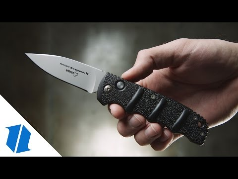 "Boker Mini Kalashnikov Automatic Knife Dagger (2.5"" Black)"