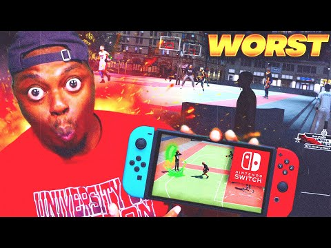 NBA 2k20 On the Nintendo Switch is GARBAGE! Worst Version EVER?!