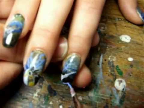 How To Convert Your Fingernails Into A Stunning Diablo Mural
