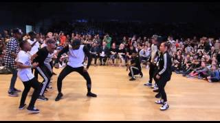 DYE-NAMIC vs THREE LIONS | Hip Hop Team Battle | IDO World Hip Hop Championship 2015