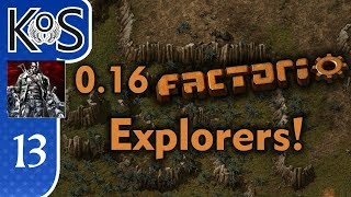 0 16 Factorio Explorers! Ep 13: BITER DECIMATION SPECIAL