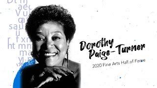 Dorothy Paige-Turner: 2020 Fine Arts Hall of Fame