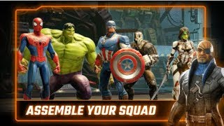 MARVEL STRIKE FORCE iOS Gameplay Trailer | Campaign Story Walkthrough Mission 1 - 10