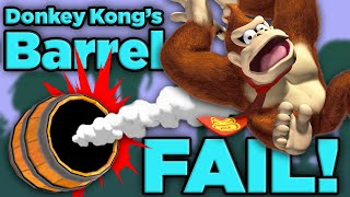 Donkey Kong is DOOMED! | The SCIENCE of... Donkey Kong Barrels