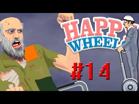 Happy Wheels Part 14 | CZ&SK | - Najdlhšia Mapka ?