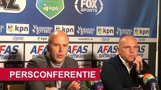 Persconferentie | AZ - sc Heerenveen