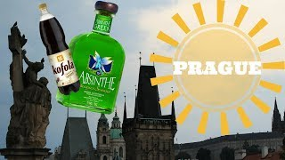 Trying ABSINTHE and KOFOLA in PRAGUE!: Backpacking Europe!