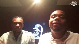 King Los x Charles Hamilton Freestyle at Hitway Recordings