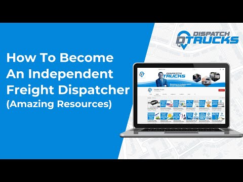 How To Become An Independent Freight Dispatcher (amazing ...