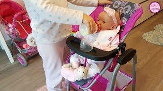 Clàudia cuida de Lindea - Muñeca reborn cuidados del bebé con juguetes