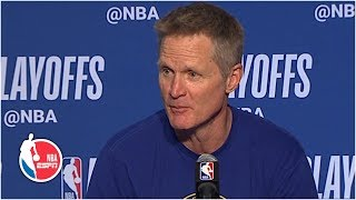 Kevin Durant took Patrick Beverley's bait – Steve Kerr   NBA on ESPN