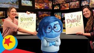 Sadness at the Beach | Pixar Doodle Duels
