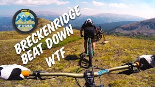 Breckenridge Colorado Beat Down Mountain Bike Ride