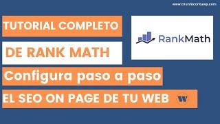 Manual Rank Math SeO WordPress