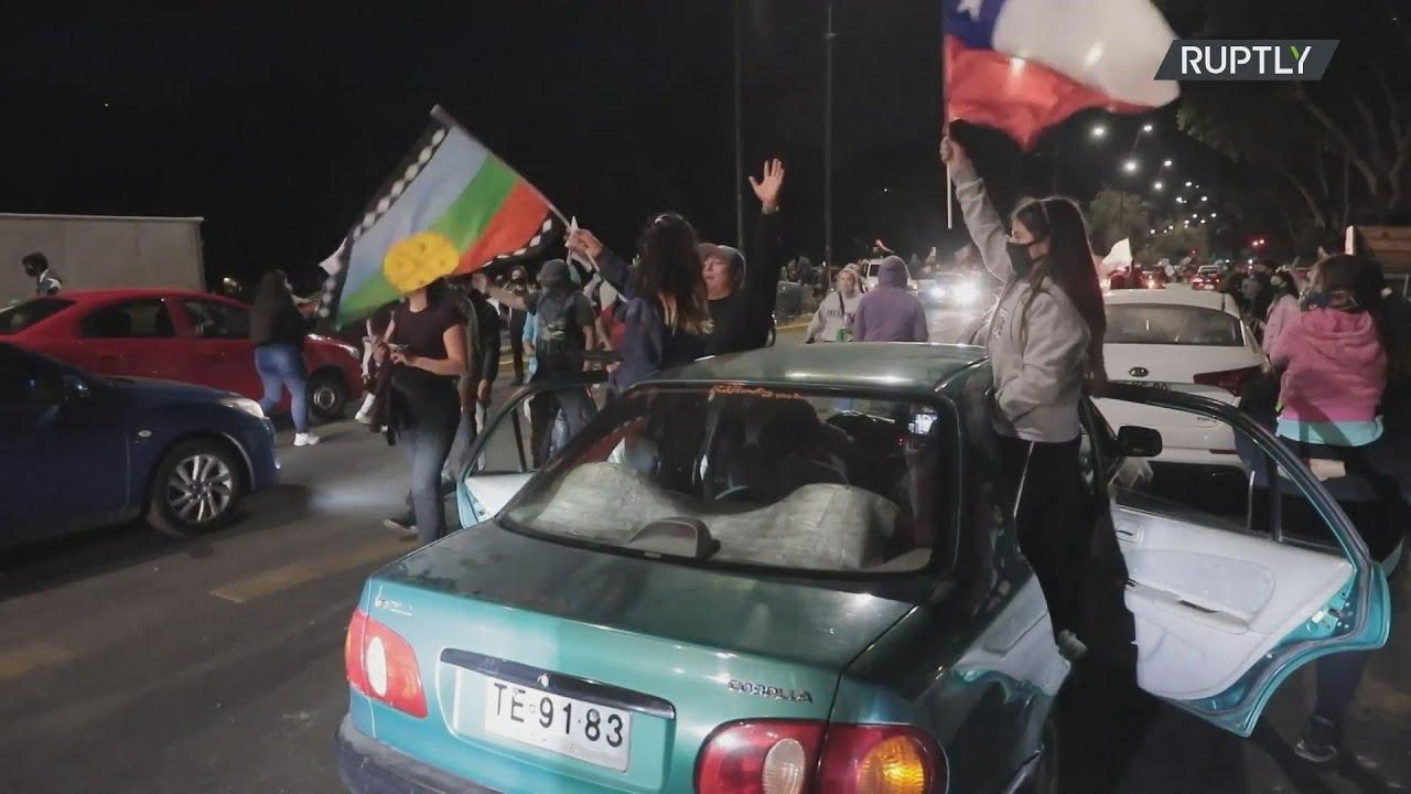 Χιλή: Η συντριπτική πλειοψηφία τάχθηκε υπέρ της αναθεώρησης του Συντάγματος στο δημοψήφισμα