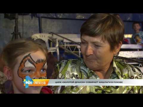 Новости Псков 24.05.2016 # Цирк Золотой Дракон