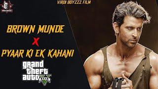 Brown Munde X Pyaar Ki Ek Kahani - (Remix) GTA VIDEO |Latest Punjabi Song 2021