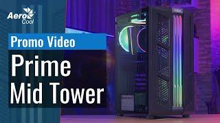 Корпус AeroCool Prime Mid Tower - Промо Видео