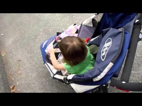 Toddler-Driven Power Stroller Means Parents Never Have To Push