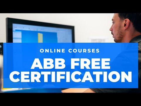 Free ABB Automation (PLC, HMI), Electrical Courses and certifications