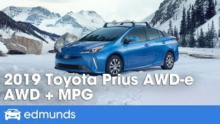 [Edmunds] 2019 Toyota Prius AWD-e | All-Wheel Drive to Broaden Its Appeal | First Drive Review